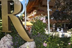 Terrasse-Garten Golf + Ski Hotel Rasmushof - Herbst 2011