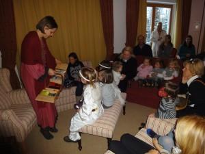 Kindernachmittag am Himmlischen Advent im Golf + Ski Hotel Rasmushof (17)