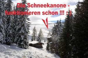 Schneekanonen in Kitzbühel - Hotel Rasmushof Kitzbühel