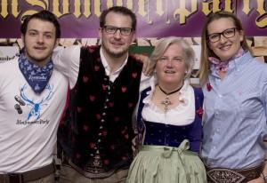 Reisch Signe, Andreas, Gesine, Nikolaus - Rasmushof Kitzbühel
