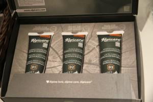 Alpicare Produkte für unsere Stammgäste im Rasmushof Kitzbühel