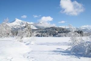 Schwarzsee im Winter