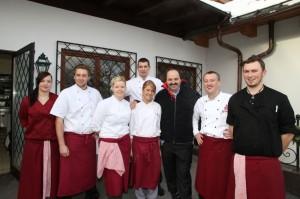 Das Küchenteam im Rasmushof Kitzbühel
